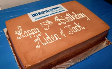 Jack's 5th Birthday – The Intrepid Air and Space Museum