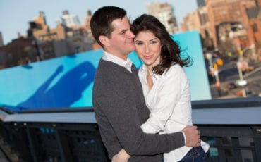 Emily and Andrew – The High Line