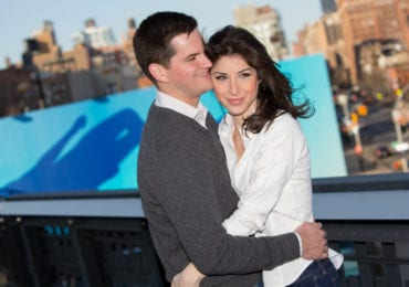 Emily and Andrew - The High Line
