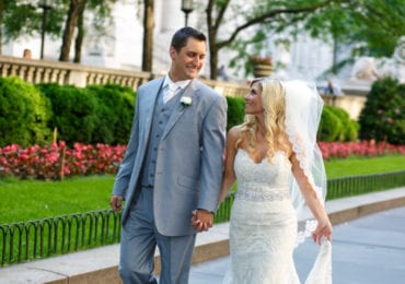 Nicole and Sean - The Bryant Park Grill