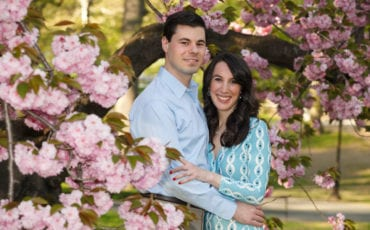 Alison and Matthew – Central Park – May