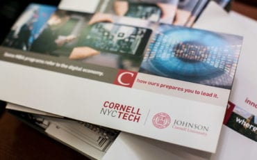 Cornell Tech Admissions and Networking Event – Cornell Club