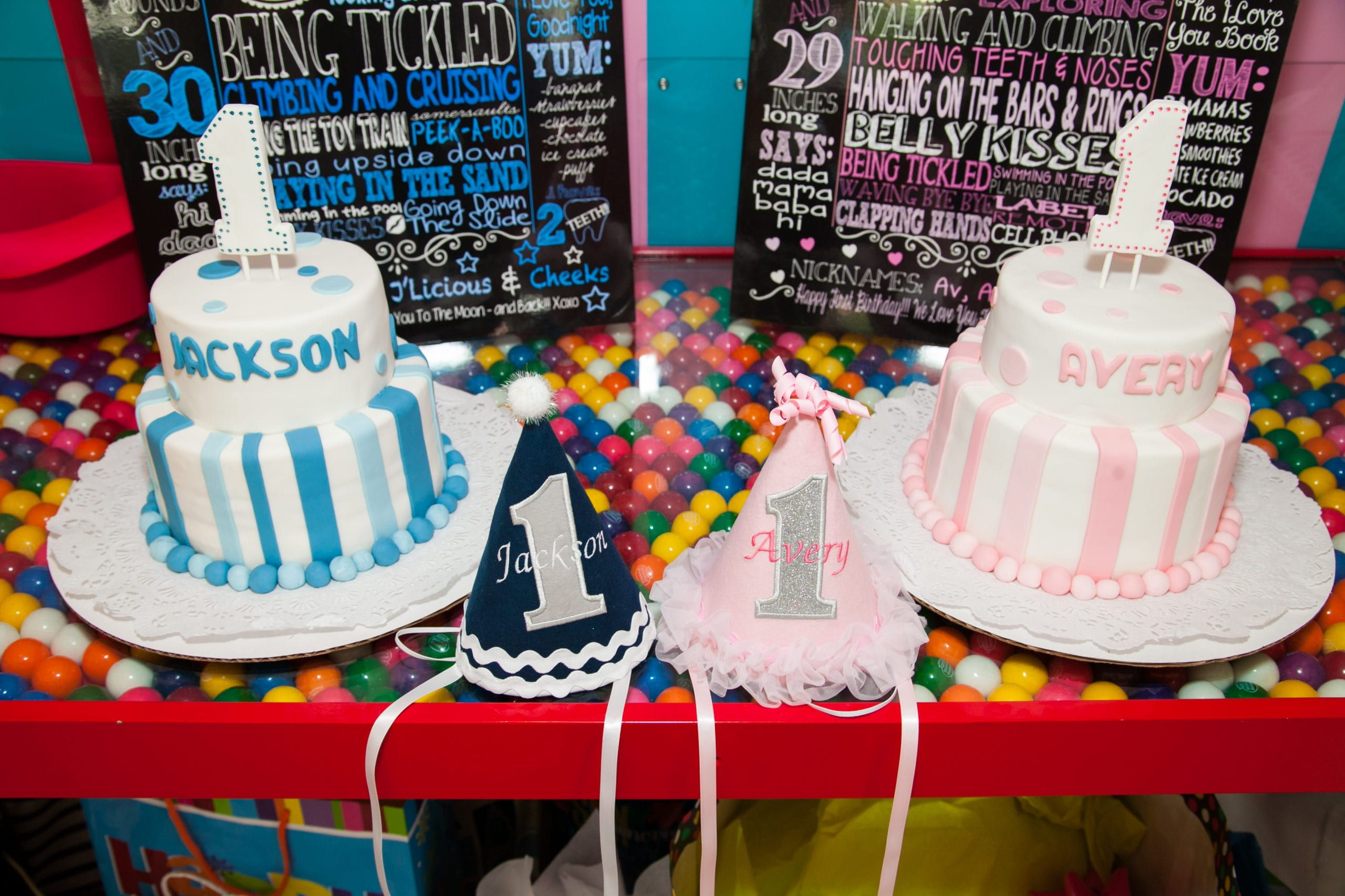 Jackson and Avery's 1st Birthday – Dylan's Candy Bar