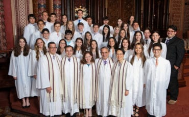 Central Synagogue Confirmation – Class of 2014