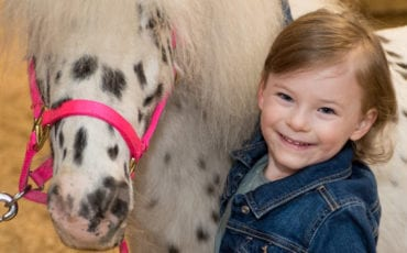 Alexandra Turns 4 and Celebrates at Chateau Pony Stables