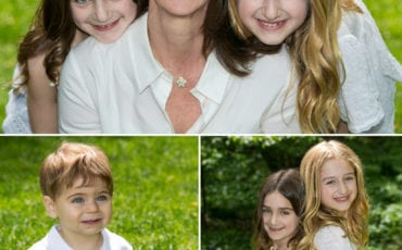 Susan and Brad Celebrate their Anniversary with a Family Photo Shoot in Central Park
