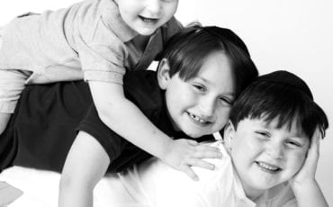 Brothers Get Together for a Fun Studio Shoot