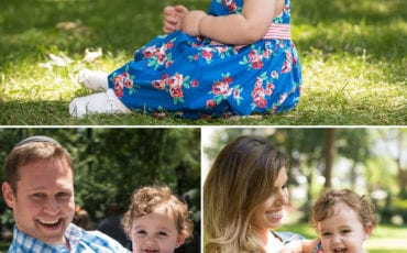 Manhattan Park is Backdrop to a Fun Father's Day Photo Shoot