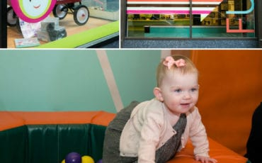 Portia's 1 Year Birthday Party at appleseeds