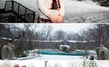 Alexandra Turns 5 at the Central Park Zoo in the Snow!