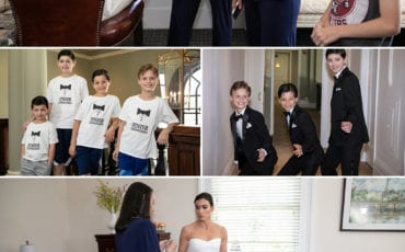CHECK OUT THIS FAMILY CELEBRATION FOR COURTNEY AND JORDAN'S WEDDING