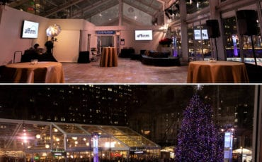 THIS WAS A HOLIDAY PARTY TO TOP ALL HOLIDAY PARTIES AT BRYANT PARK